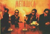 Metallica - 'Group in Candlelight' Postcard